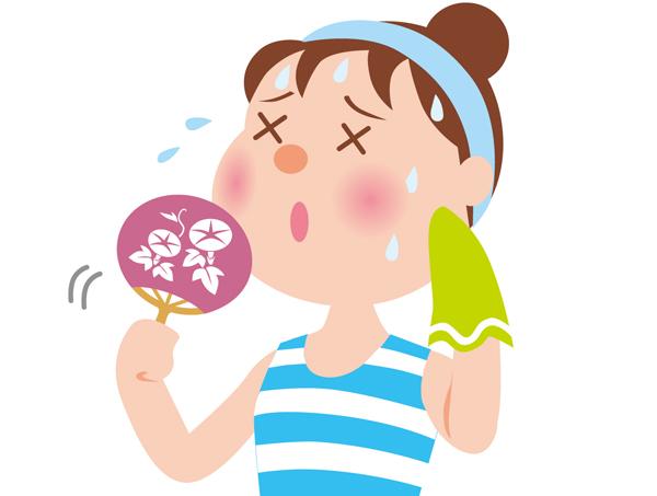 多汗症を改善したい貴方に☆汗をピタッと抑える対策法