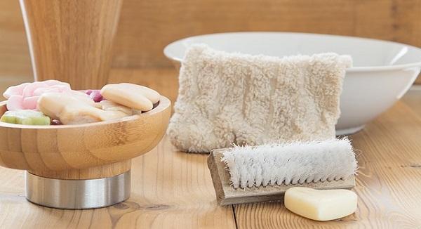 清潔な石鹸のイメージ